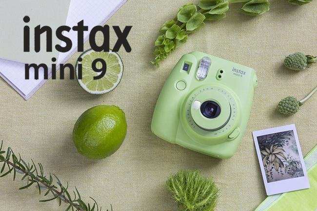 Новое в FOQUS-е: моментальные камеры Fujifilm Instax Mini 9