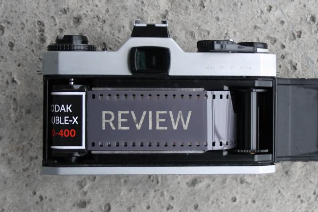 Обзор чёрно-белой плёнки Kodak Double-X.