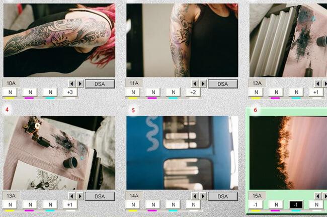 Сканирование и обработка изображений в плёночной фотолаборатории FOQUS.